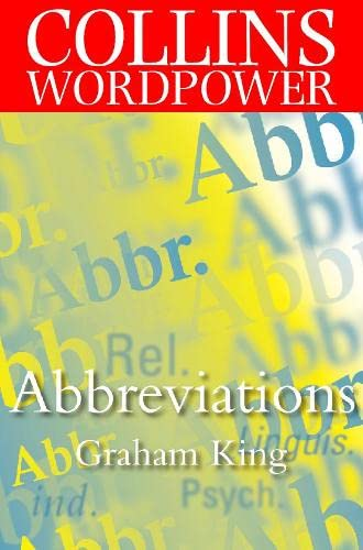 9780004723891: Abbreviations (Collins Word Power)