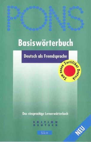9780004723945: German Monolingual: Basiswörterbuch: Basisworterbuch (Dictionary)