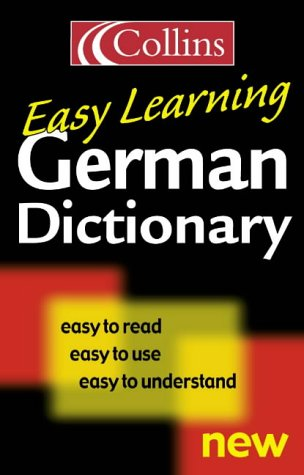9780004724027: German Easy Learning Dictionary (English and German Edition)