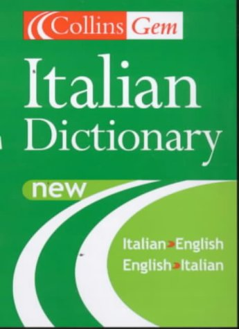 9780004724119: Collins Gem Italian Dictionary, 5e