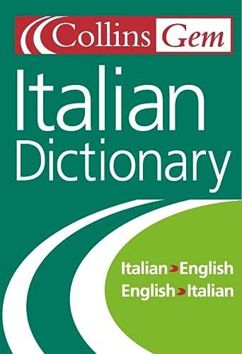 9780004724119: Collins Gem Italian Dictionary, 5e
