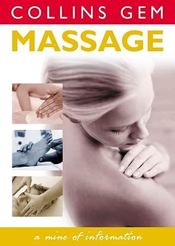 9780004724690: Massage (Collins Gem)
