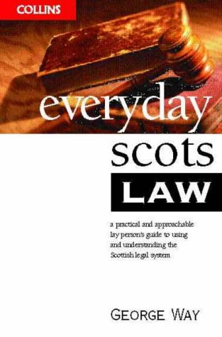9780004724935: Everyday Scots Law