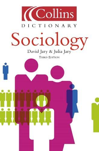 9780004725116: Collins Dictionary of - Sociology
