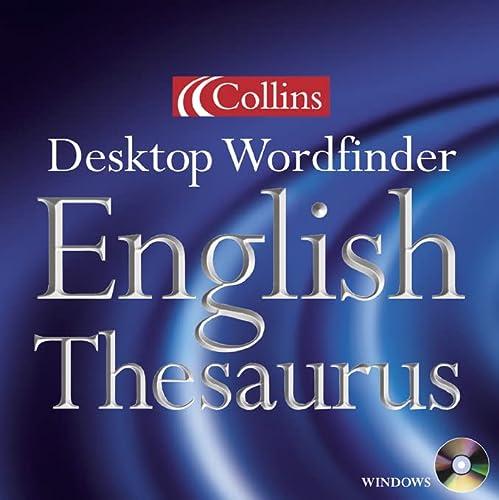 9780004725178: Collins Desktop Wordfinder English Thesaurus [CD-ROM]