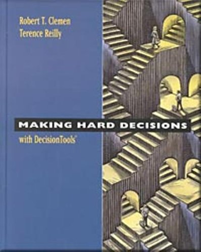 9780004774060: Making Hard Decision with Decision Tools Suite (1st Edition) Text Only