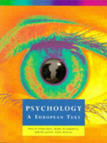 9780004990026: Psychology: A European Text