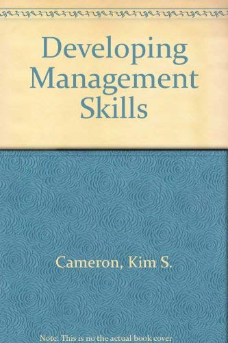 9780004990057: Developing Management Skills
