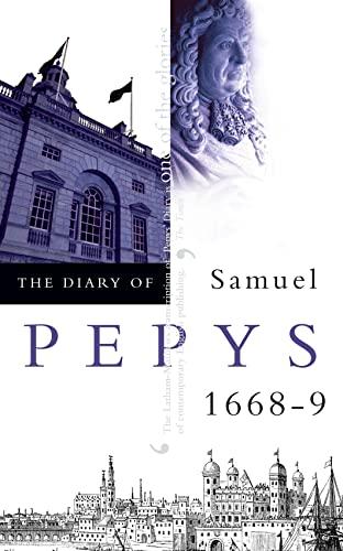 9780004990293: The Diary of Samuel Pepys: 1668-1669