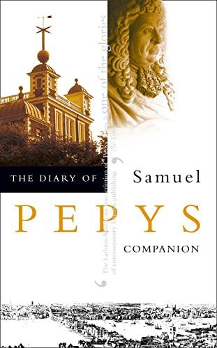 9780004990309: The Diary of Samuel Pepys: Volume X - Companion: Companion v. 10