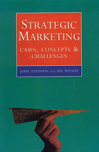 9780004990378: Strategic Marketing: Cases, Concepts and Challenges