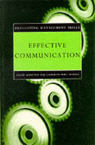 9780004990422: Effective Communication (Developing Management Skills)