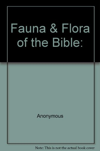 9780005003077: Fauna & Flora of the Bible: