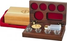 9780005043820: 4 Cup Communion Set Wooden: RW26