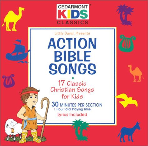 9780005072271: Action Bible Songs: 17 Classic Christian Songs for Kids