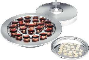 9780005092958: Silvertone Communion Tray Cove: RW531A