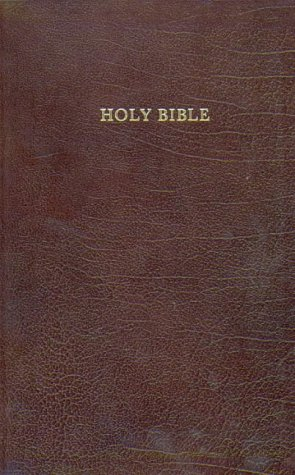 9780005105894: KJV Brown Leather Bible: Authorized King James Version Comfort Bible