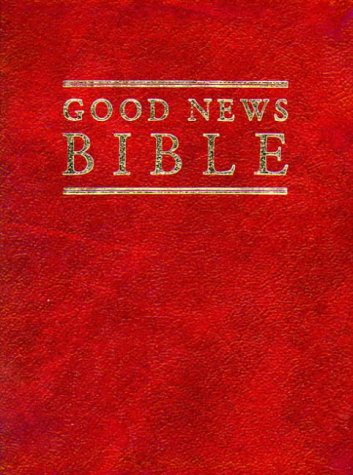 GNB Compact Burgundy Leather Bible: Good News