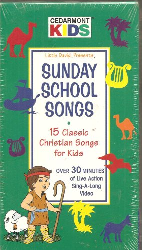 9780005134177: Sunday School Songs: 15 Classic Christian Songs for Kids [VHS]