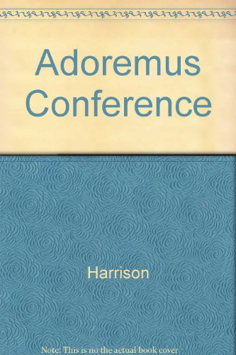9780005158258: Adoremus Conference: