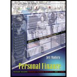 Personal Financial Planning - Textbook Only: Jeff Madura
