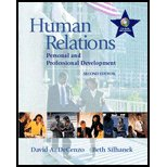 9780005182321: Title: HUMAN RELATIONS-TEXT