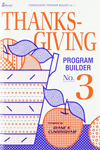 9780005285602: Thanksgiving Program Builder