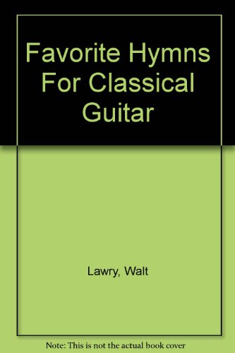 9780005318157: Favorite Hymns Classical Guitar