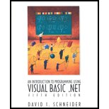 9780005354612: An Introduction to Programming with Visual Basic. NET - Textbook Only