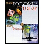 Macroeconomics for Today - Textbook Only (0005421675) by Irvin B. Tucker