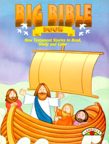 9780005433515: Big Bible Book: New Testament Stories to Read, Study and Color