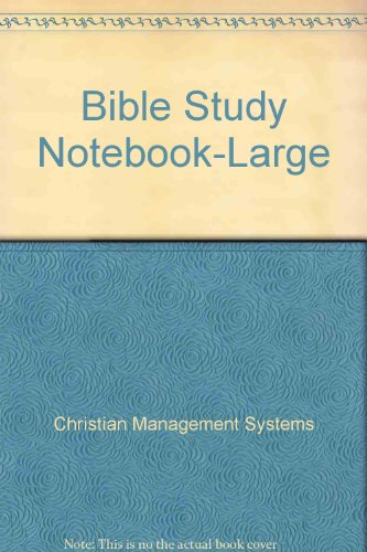 9780005446201: Bible Study Notebook-Large: