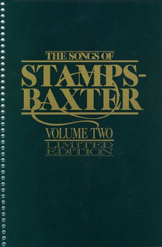 9780005476796: Songs of Stamps Baxter, Volume 2