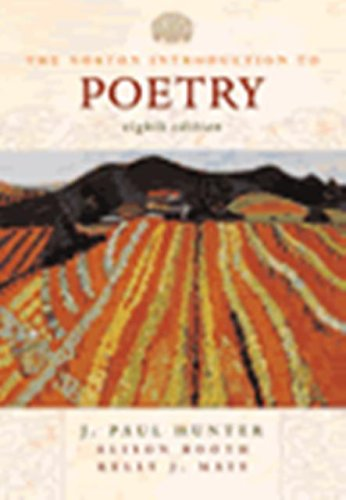 9780005546918: Norton Introduction to Poetry (8th Edition) Text Only
