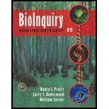 BioInquiry: Making Connections in Biology - Textbook Only: Nancy L., Larry S. Underwood, and ...
