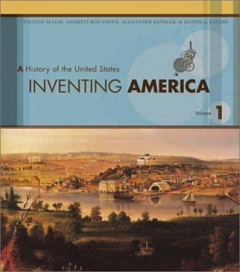 Inventing America, Volume I - Text Only (0005724031) by Pauline Maier