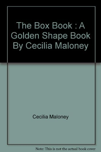 9780005900123: The Box Book : A Golden Shape Book By Cecilia Maloney