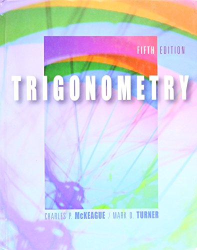 9780005900918: TRIGONOMETRY-TEXT