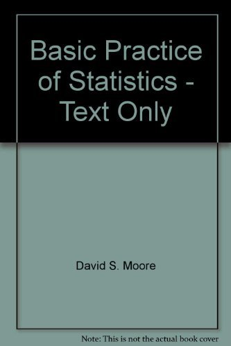 9780005911945: Basic Practice of Statistics - Text Only