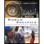World Politics : Trend and Transformation - Textbook Only: Kegley Jr., Charles W. & Eugene R. ...