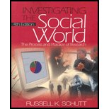 9780005971598: Investigating Social World : The Process and Practice of Research-Textbook Only