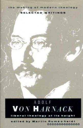 9780005991312: Adolf Von Harnack