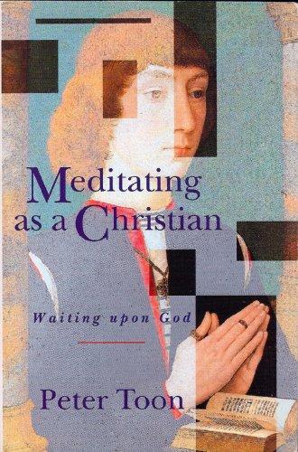 9780005991893: Meditating As a Christian: Waiting upon God