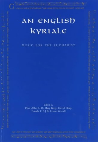 An English Kyriale: Music for the Eucharist