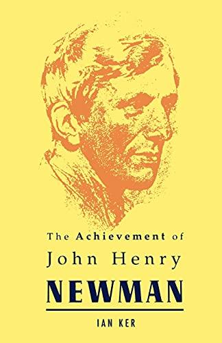 9780005992760: Achievement of John Henry Newman