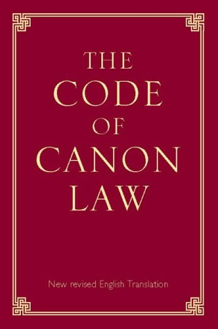 9780005993750: The Code of Canon Law