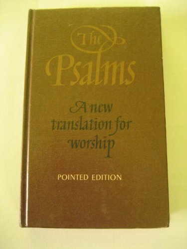 9780005995464: The Psalms: New Translation