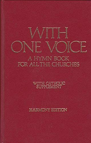 9780005996379: With One Voice: Harmony e., w.Catholic Suppt: Hymn Book for All the Churches