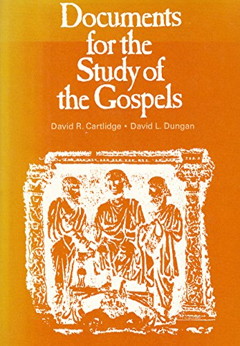 9780005996522: Documents for the Study of the Gospels
