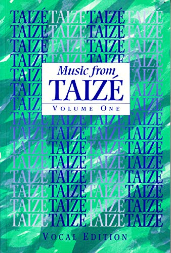 9780005997208: Music from Taize: Responses, Litanies, Acclamations & Canons: Vocal Edition: Vol 1